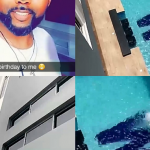 Banky W Acquires A New House As 37th Birthday Gift, Initial Engraved In Pool