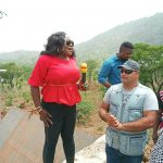 INSPECTION TOUR OF ROAD PROJECTS IN CENTRAL AND NORTHERN CROSS RIVER :